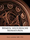 Mimen; Historische Miniaturen, Paul Landau, 1149470038