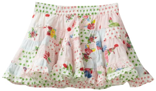 Room Seven Baby Girls' Saffran 999 Pant, Patchwork Multi Fabric, 18 Months