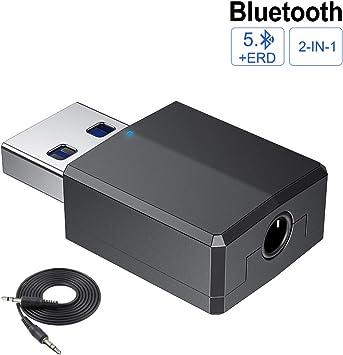 cabletrans Bluetooth USB PC, Adaptador Bluetooth 4.0 USB Pendrive ...
