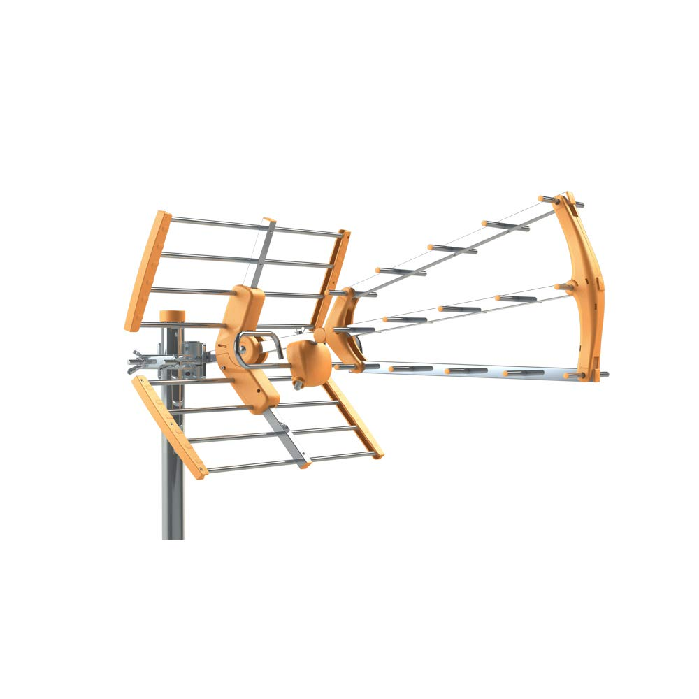 Tecatel ANT-BKM18 - Antena BKM Triple Plegable, Color Naranja product image