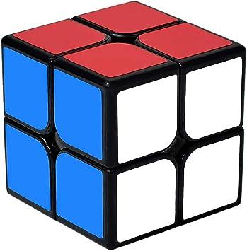 lunaoo Magic Cube 2x2 Speed Cube, Cubo Magico Puzzle 3D ...
