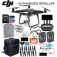 DJI Phantom 4 PRO+ PLUS Obsidian Edition Drone Quadcopter EVERYTHING YOU NEED Essentials Bundle