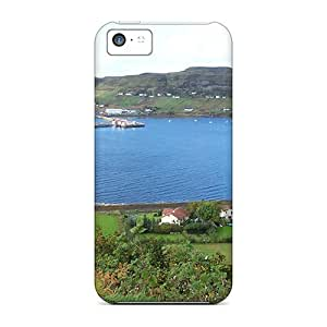 Durable Defender Case For Iphone 5c Tpu Cover(uig Harbour)