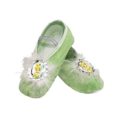 Girls Disney Tinkerbell Ballet Slippers: Toys & Games