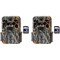 Browning Trail Cameras Spec Ops FHD Platinum 10MP Game Camera, 2 Pack + SD Cards