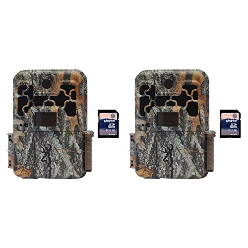 Browning Trail Cameras Spec Ops FHD Extreme 20MP Game Camera, 2 Pack + SD Cards by Browning Trail Cameras
