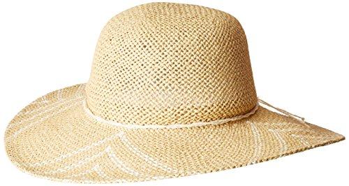 San Diego Hat Company Women's Woven Paper Sun Brim Hat