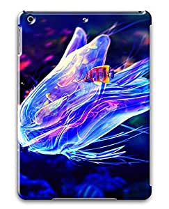 iPad Air Cases & Covers - Blue Creative Jellyfish PC Custom Soft Case Cover Protector for iPad Air