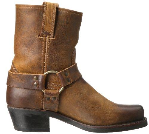 Brown Frye Harness 8R Boot Women's Dark KRKC6PqS