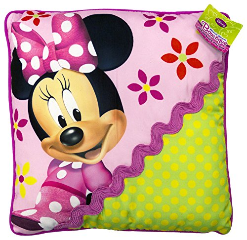 Disney Minnie Mouse Bowtique Garden Party Decorative Toss Pillow