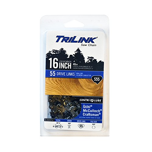 Trilink Saw Chain CL15055TL2 CP-5 S 55 CL 16'' Chain by Trilink Saw Chain
