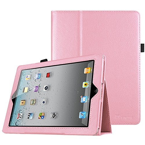 Fintie iPad 2/3/4 Case - Slim Fit Folio Stand Case Smart Protective Cover Auto Sleep / Wake Feature for Apple iPad 2, iPad 3 & iPad 4th Generation with Retina Display - Pink