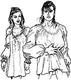 Easy Peasant Shirt/Chemise Pattern