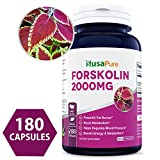 Best Forskolin Supplements - 100% Pure Forskolin 2000mg Per Caps - 180 Review