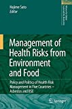 Management of Health Risks from Environment and Food 9789048130276