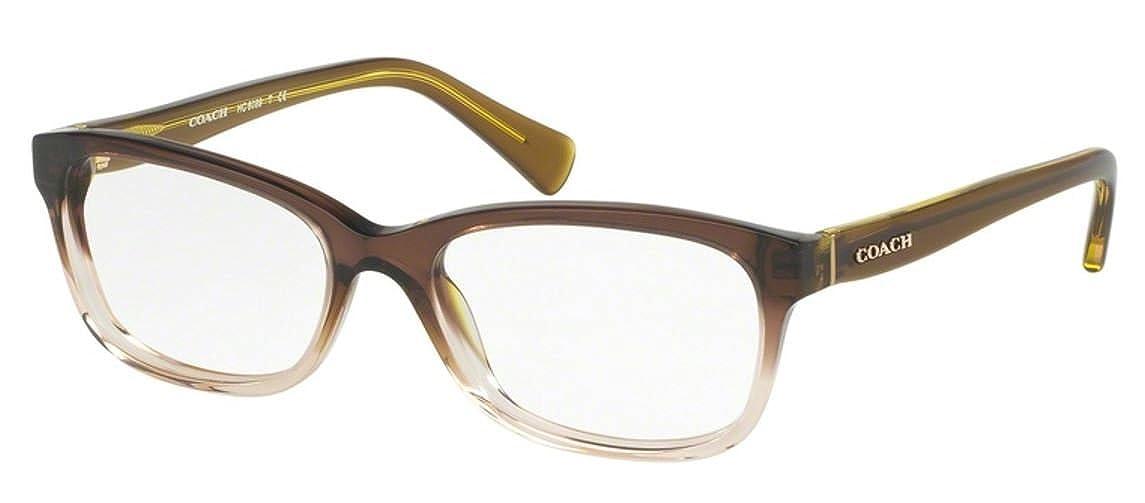 d9a217ab3f1e Amazon.com: Coach Women's HC6089 Eyeglasses Black 49mm: Clothing