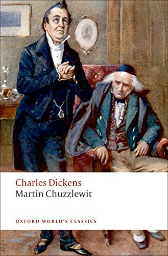 Book cover for Martin Chuzzlewit