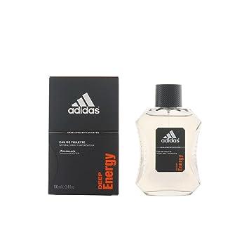 Adidas Deep Energy Eau De Toilette Spray for Men, 3.4 Ounce