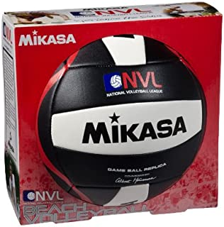 Mikasa D121 NVL Game Ball Replica Outdoor Volleyball NVL-VX-BKW