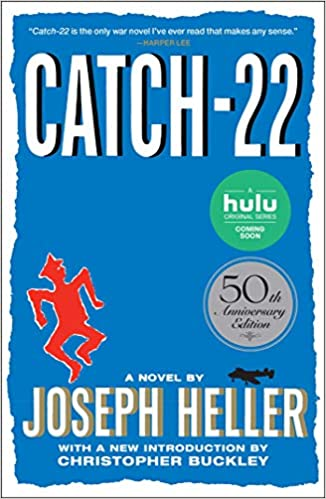 Image result for Catch-22 by Joseph Heller.