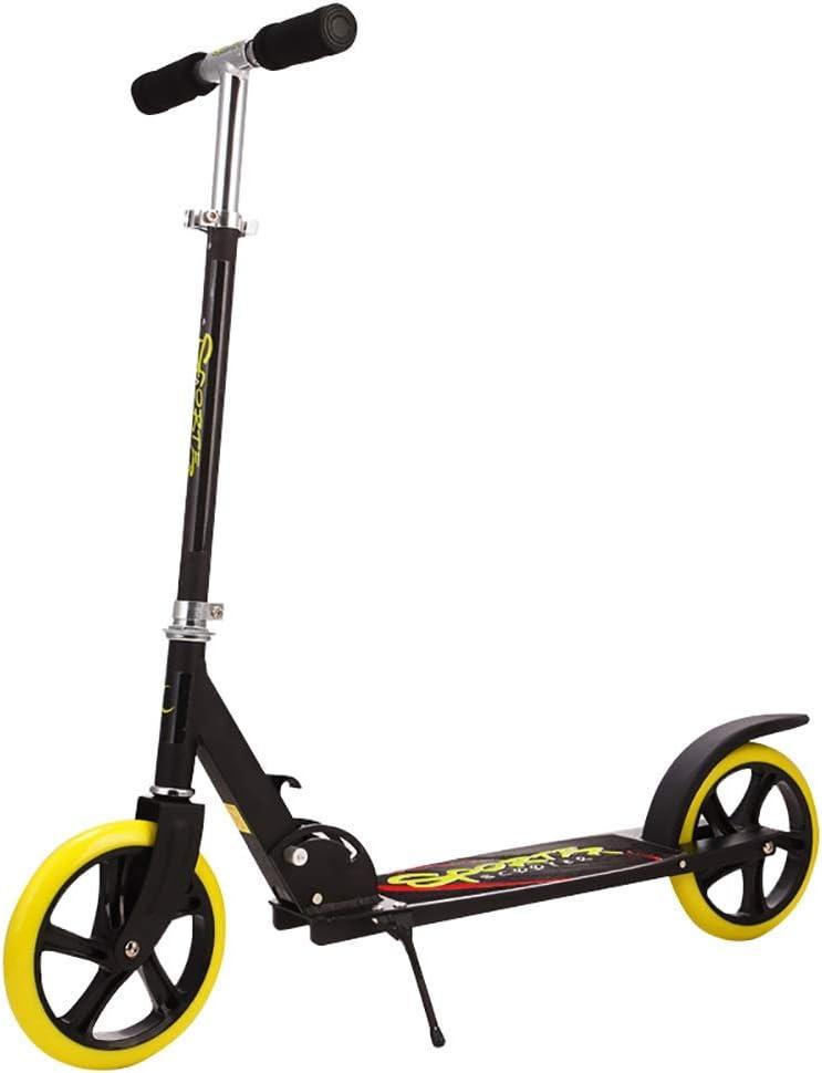 大人用 キックボード 大人の蹴りのスクーターの非電気折る蹴りのスクーター、通勤者のスクーターサポート100KG重量の軽量の構造