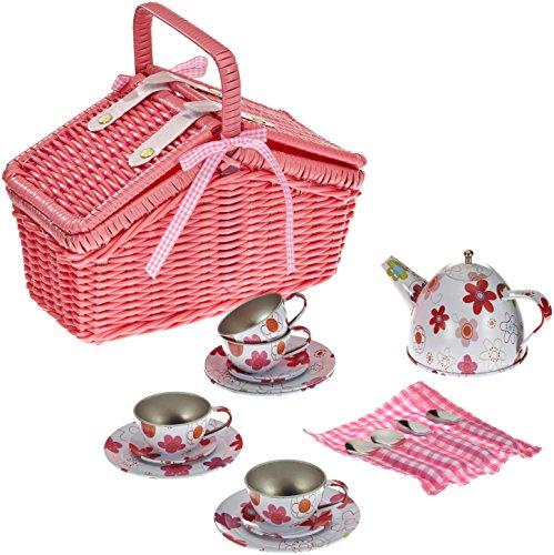 Small-Foot-Company-9980-Picknickkorb-fr-Kinder-ab-3-mit-18-Teilen-fr-Puppenmuttis