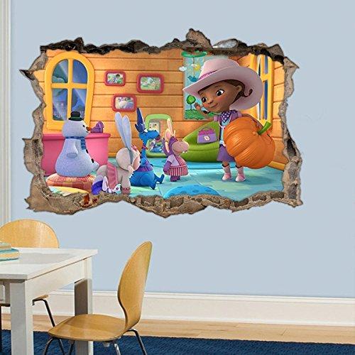 Adesivo Buraco Doutora Brinquedos - G 65x100cm