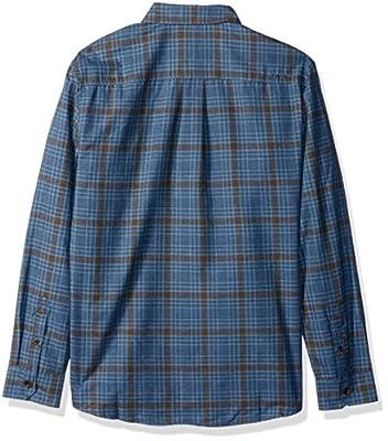 Quiksilver Waterman Men's Cortez Straight Plaid Button Down Shirt
