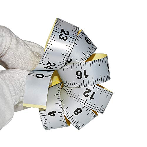 WIN TAPE Workbench Ruler Adhesive Backed Tape Measure – 24 Inches 61 Centimeters Tape Measure (Inches) – The Super Cheap