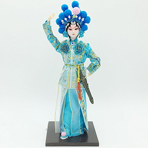 NW Chinese Traditional Handicraft Silk Figurine Collectible Chinese Doll Silk (Chinese Collectible Doll)