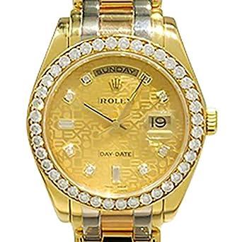 350d0498b0 Amazon | ロレックス ROLEX デイデイト トリド-ル 18948A 中古 腕時計 メンズ [並行輸入品] | 並行輸入品・逆輸入品・中古品(メンズ)  | 腕時計 通販