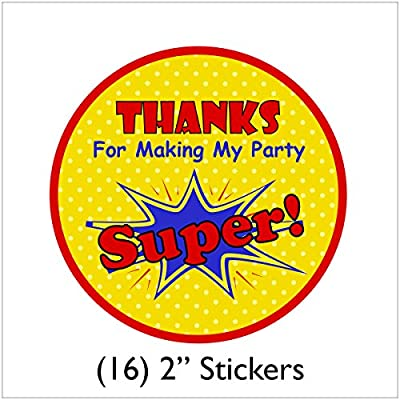 Spiderman Birthday Party Supplies Pack for 16 Guests | Stickers, 16 Paper Dinner Plates, 16 Paper Luncheon Napkins, Table Cover, and 16 Cups | Perfect Spiderman Decorations For Your Birthday Party!: Toys & Games