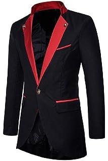 Sheng Xi Mens Casual Corduroy Long Sleeve Blazer Suit Outwear Coat