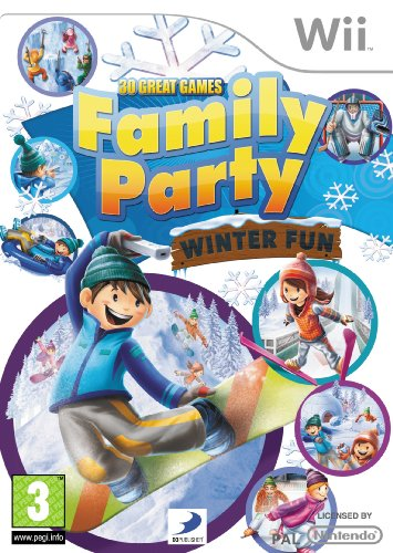 30 Great Games Family Party: Winter Fun (Wii) (Family Party 30 Great Games For Wii)