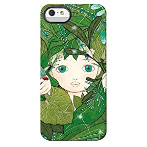 Iphone 5c Case-silicone Protective-girl Among the Tree
