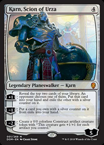Karn, Scion of Urza - Dominaria by Magic Singles