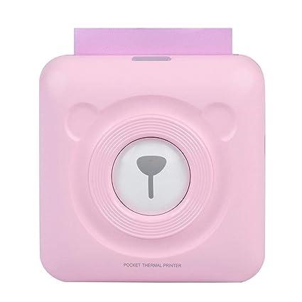 kangqi Mini Impresora Bluetooth Impresora térmica portátil ...