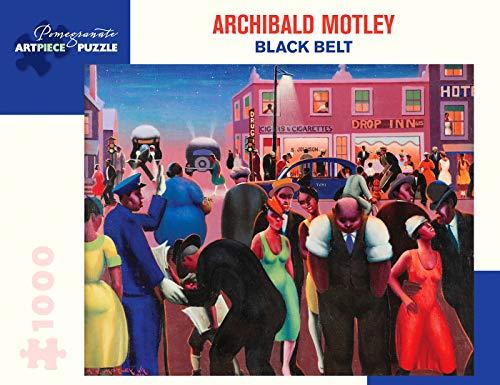Archibald Motley: Black Belt 1000-Piece Jigsaw Puzzle ()