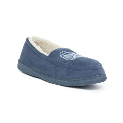 5e2592be837 Zone - Womens Blue Moccasin Cat Slipper  Amazon.co.uk  Shoes   Bags