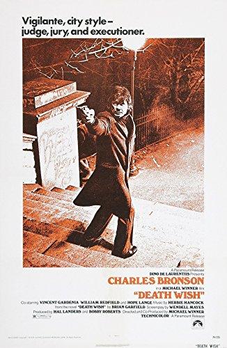 Death Wish Charles Bronson 1974 Movie Poster Masterprint (11 x 17)