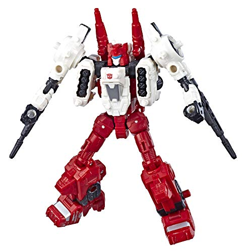 Transformers Toys Generations War for Cybertron Deluxe Wfc-S22 Autobot Six-Gun Weaponizer Action Figure - Siege Chapter - Adults & Kids Ages 8 & Up, 5 ()
