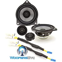 Rockford Fosgate T3-BMW3 4 Direct Fit 2-Way Component Speakers System for Select BMW Models