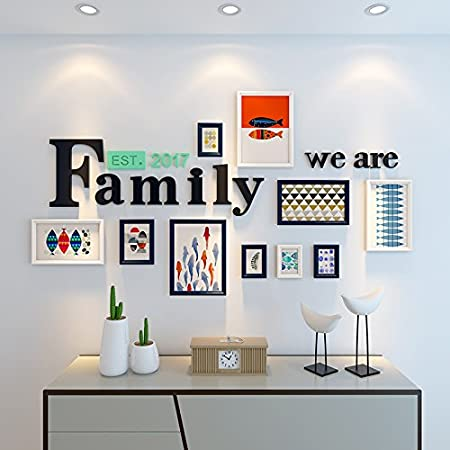 HJKY Photo Frame Wall SetEuropean Photo Wall Frames Creative Living ...