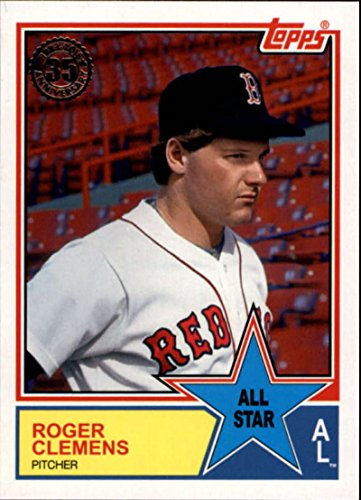 (2018 Topps Series 2 Baseball '83 1983 All-Stars #83AS-57 Roger Clemens Boston Red Sox Trading Card)