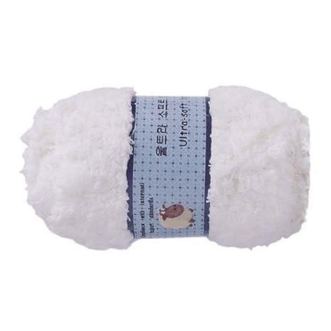 Delicacydex Coral Fleece Bebé Niños Lana Tejidos a Mano Toallas Bufandas Niños Niños Niñas Bufanda Cálido