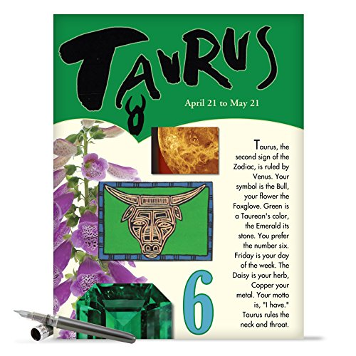 j9443-taurus-astrological-sign-birthday-card-famous-people-moto-personality-stone-symbol-planet-colo