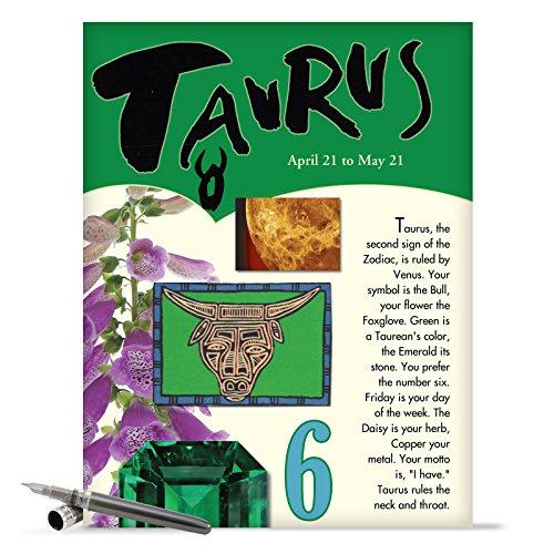 J9443 Taurus Astrological Sign Birthday