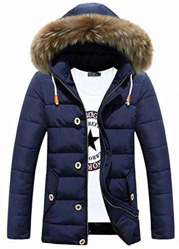 Outwear Cappa 1 Cappotto Parka Rivestimento Mens pelliccia uk Oggi Del Eco Inverno qvwxIP