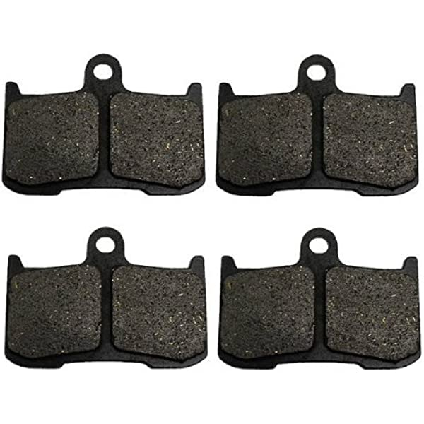 SYUU Motorcycle Replacement Front Rear Brake Pads Brakes for Indian Chieftan Chief Classic Vintage Dark Horse Roadmaster 2014 2015 2016 2017 FA347F FA347F FA196R