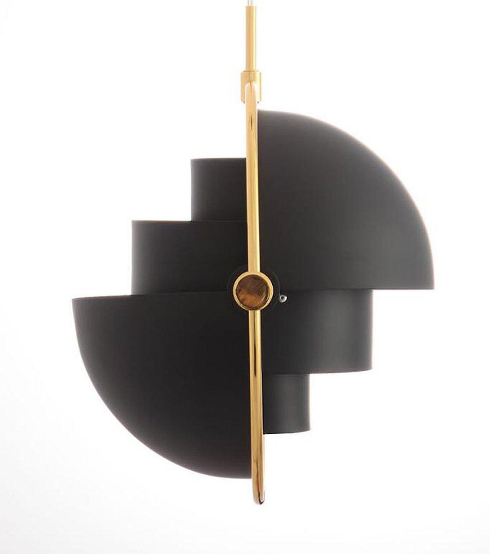 Ydxwan LED Retro-Moderne Metall Pendelleuchte Halbkreisförmige Kronleuchter Kreative Restaurant/Schlafzimmer / Wohnzimmer Kronleuchter (ohne Glühbirnen)